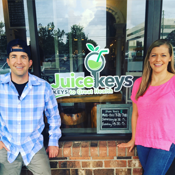 Chris and Kelly Young of Juicekeys