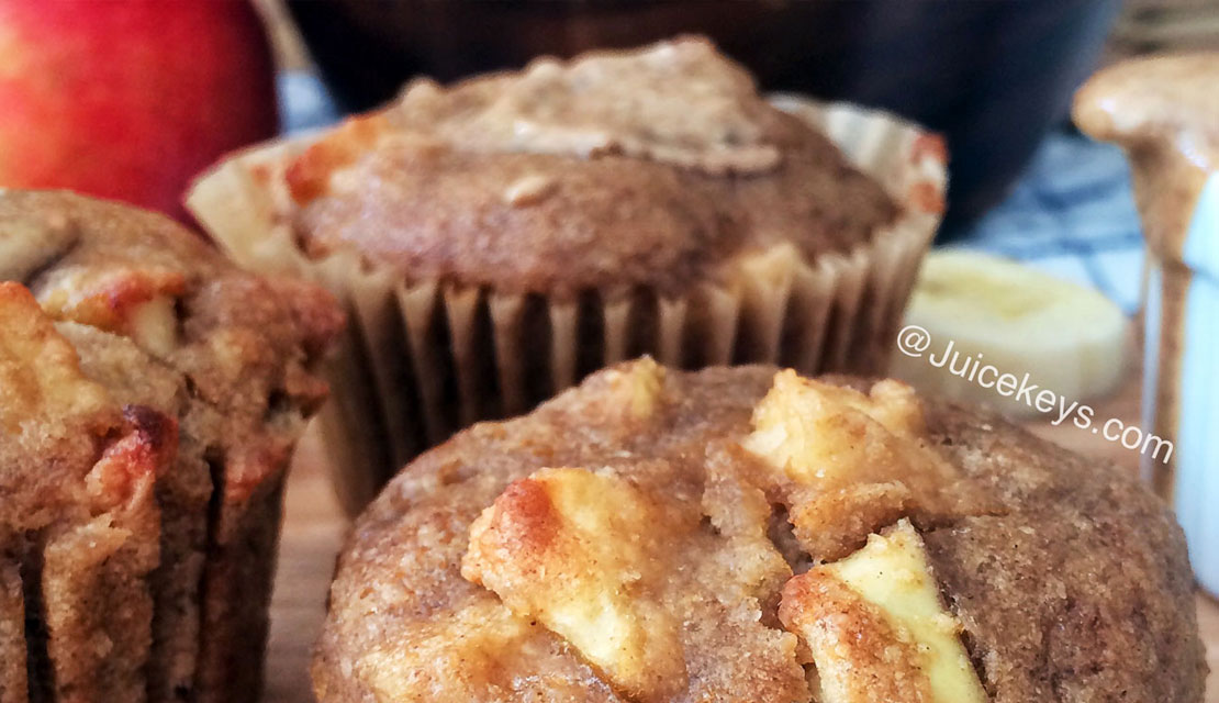 Kelly's Kreations: Banana Apple Muffins, Gluten-free