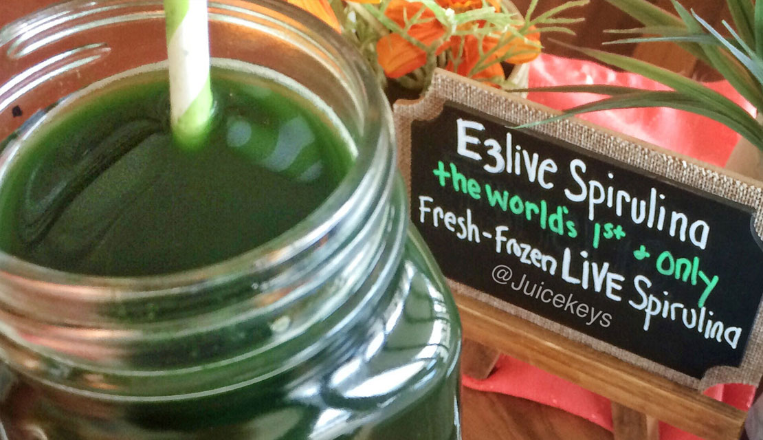The World's First and only Fresh-Frozen LIVE Spirulina