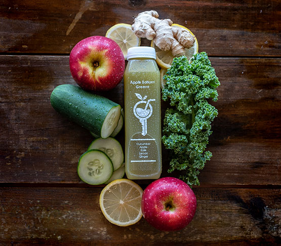 Picture of Apple Bottom Greens Juice