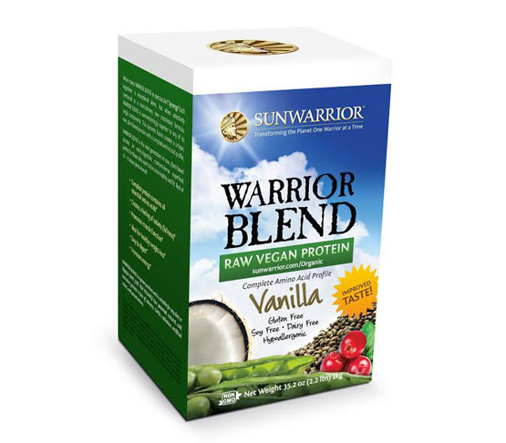 Sunwarrior warrior blend recipes